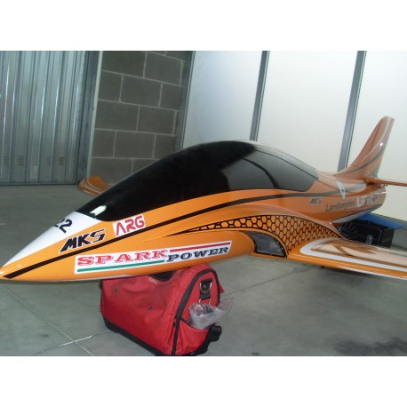UNICO Sport Jet GFK LAMBORGHINI ORANGE WITH STICKERS