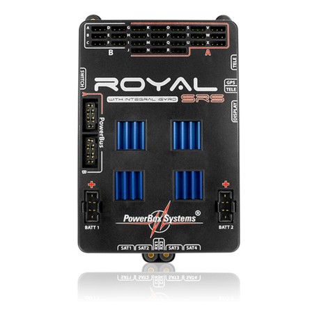 POWERBOX  ROYAL SRS W/LCD AND GPS