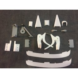 Aermacchi M311 scale parts set (3D printed)